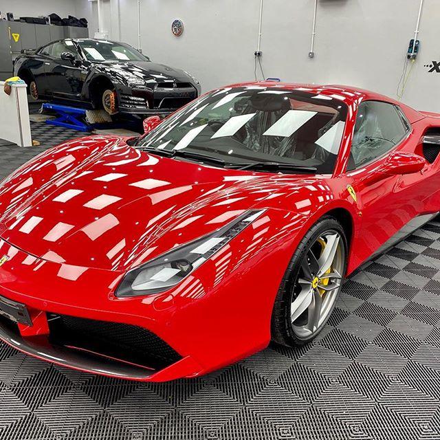 Ferrari Detailing In Glasgow