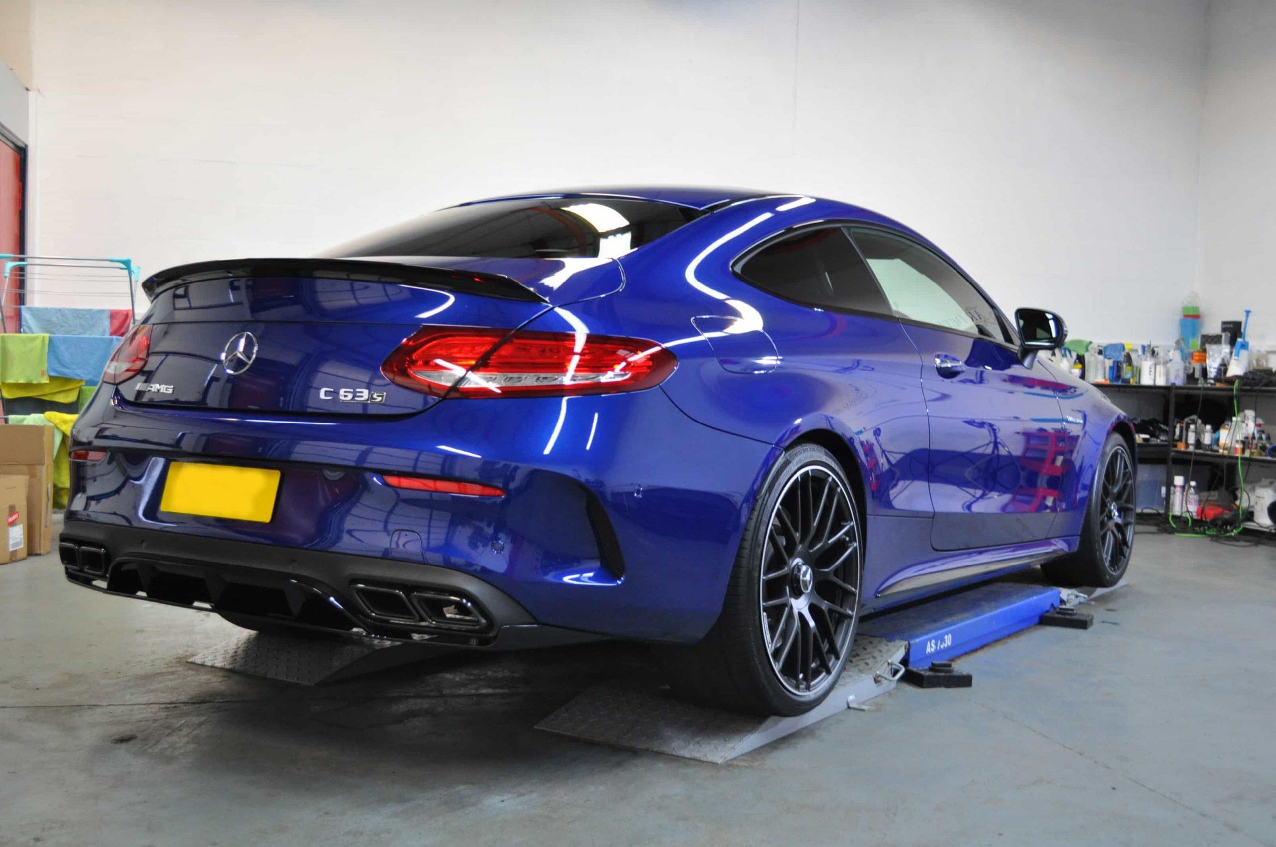 Blue Mercedes Glasgow