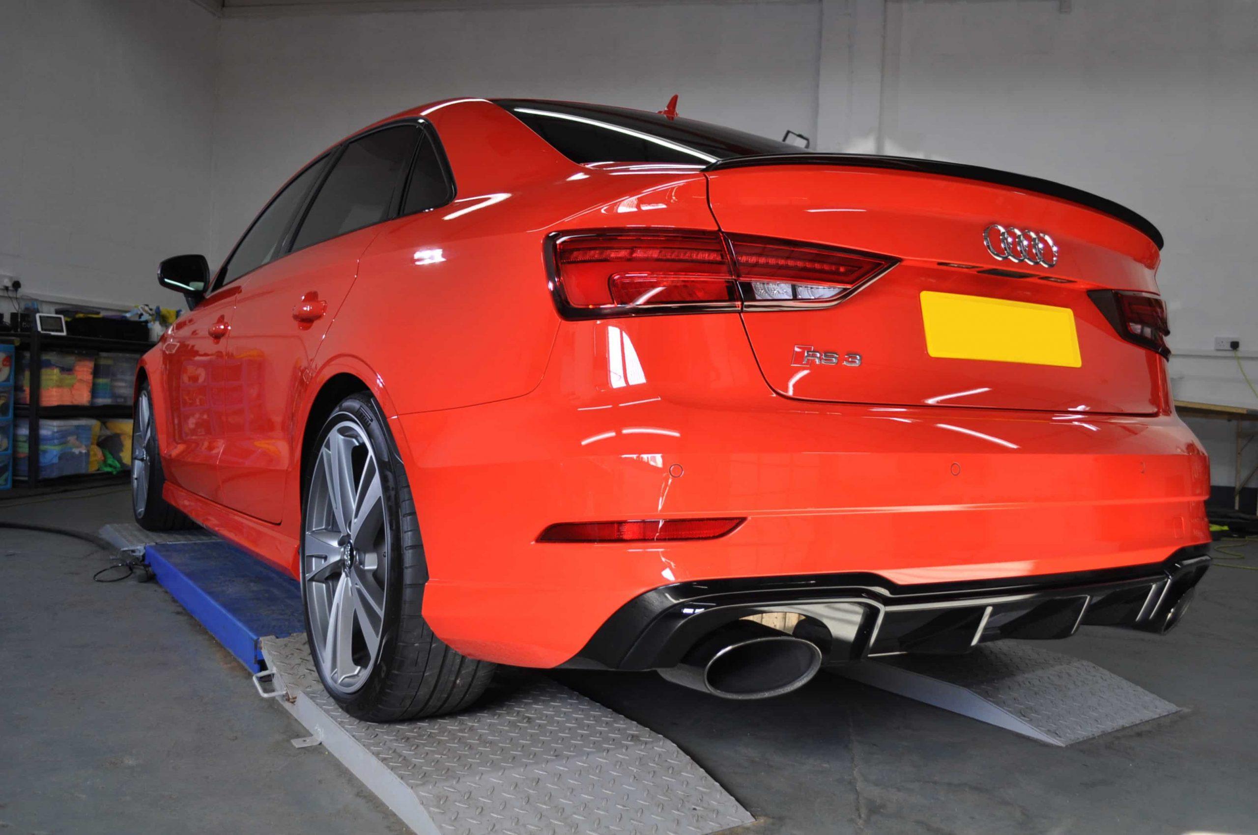 Enhancement Detail Audi In Glasgow