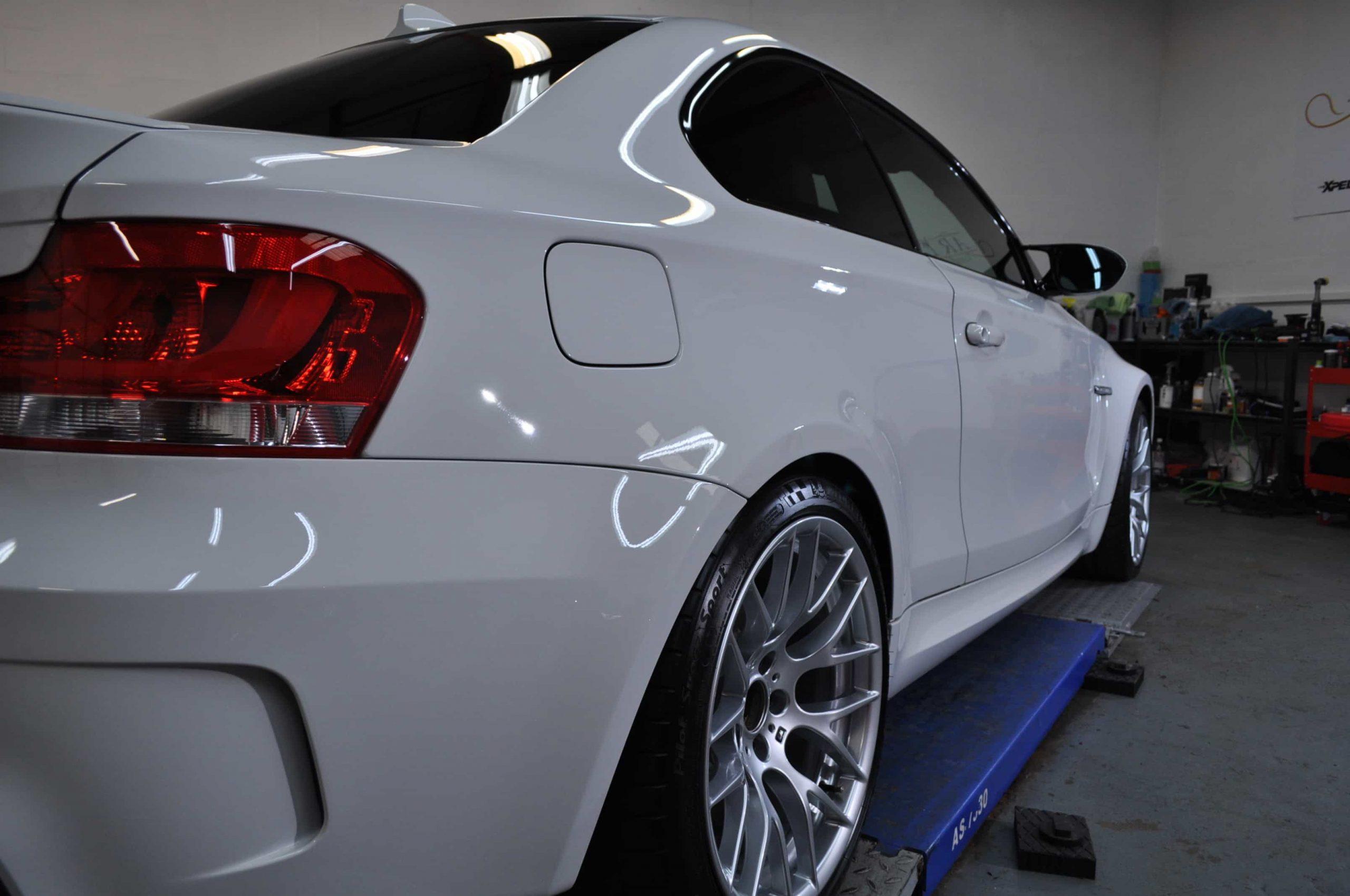 White BMW Detailing