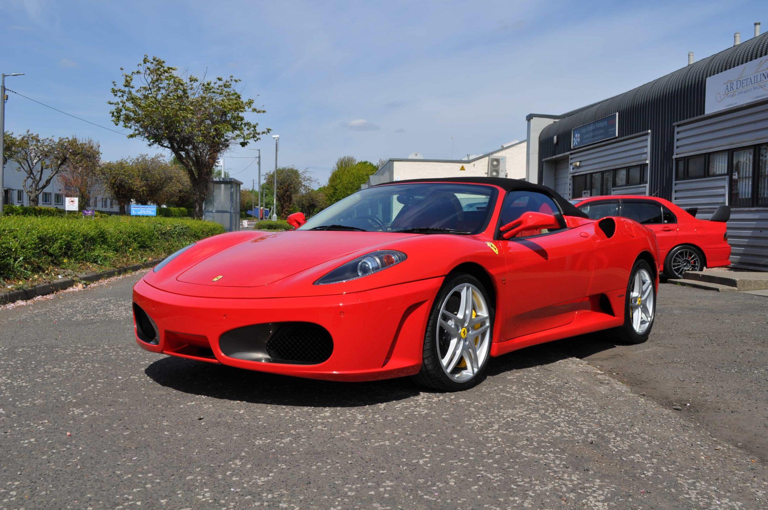 Ferrari Major Correction Detail Glasgow